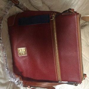 Dooney & Bourke Cranberry Crossbody Handbag